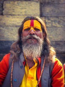 Les hommes de Pashupatinath