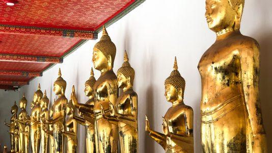 Les bouddhas de Bangkok