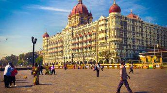 Le centre-ville de Mumbai