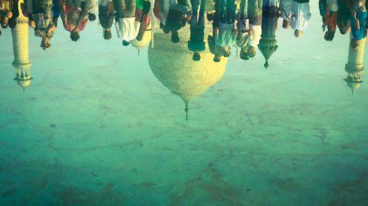 L'eau et le Taj Mahal