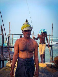 Les hommes du Sri Lanka