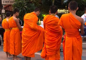 Les moines de Chiang Mai