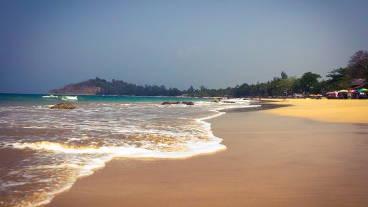 Les plages de Ngapali