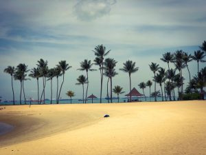Les plages de Sentosa