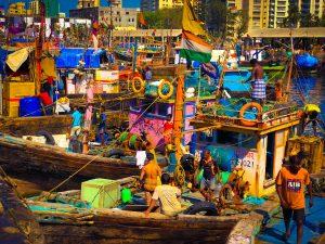 Le port de Mumbai
