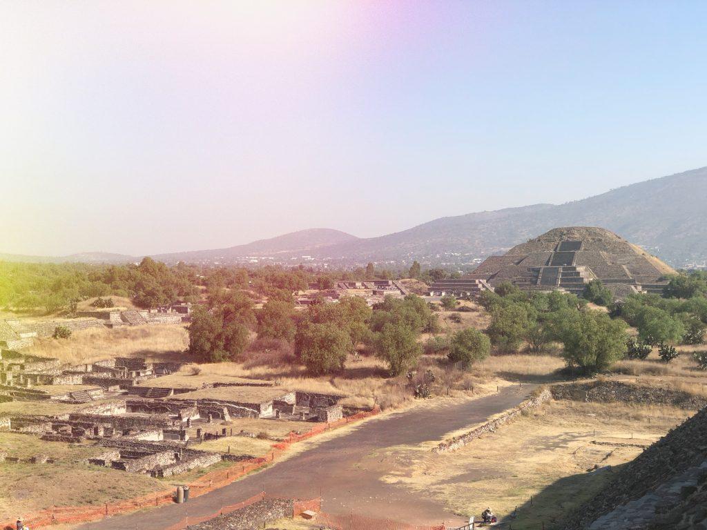 Pyramide de Teotihuacan