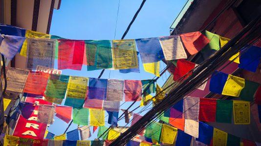 Quartier de Thamel à Katmandou