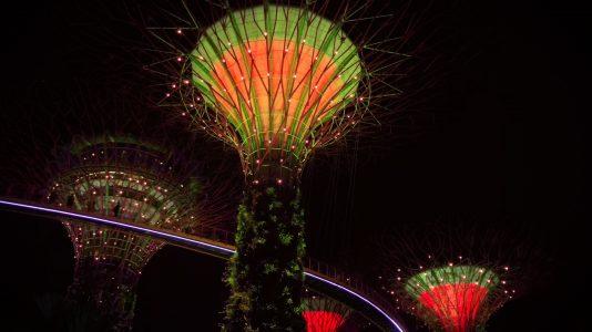 Singapour de soir