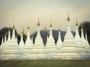 Les temples de Mandalay