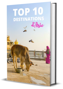 Top 10 des destinations d'Asie en format ebook gratuit
