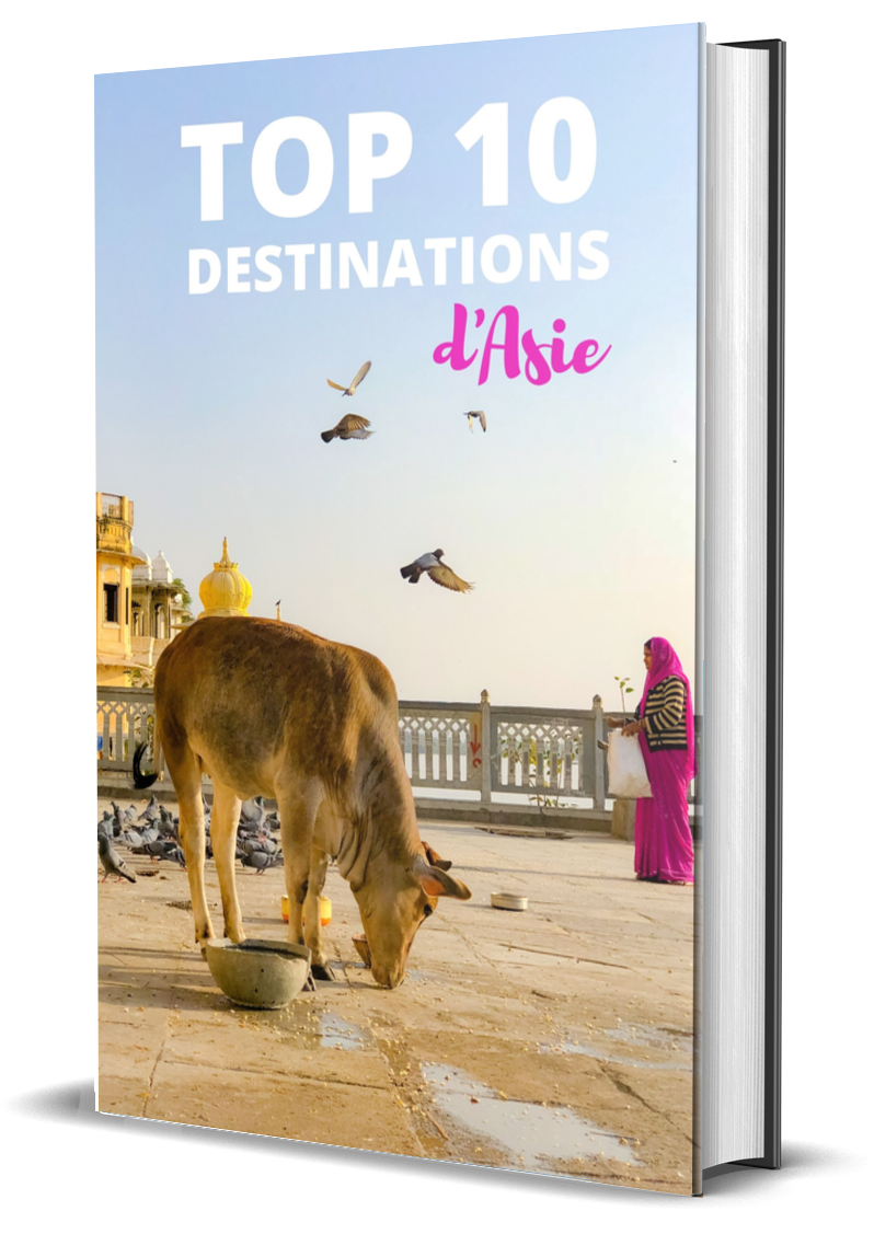 Top 10 des destinations d'Asie en format ebook gratuit